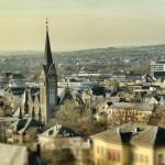 Stadtansicht mit Johanneskirche