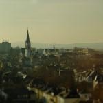 Stadtansicht mit St. Bonifatiuskirche