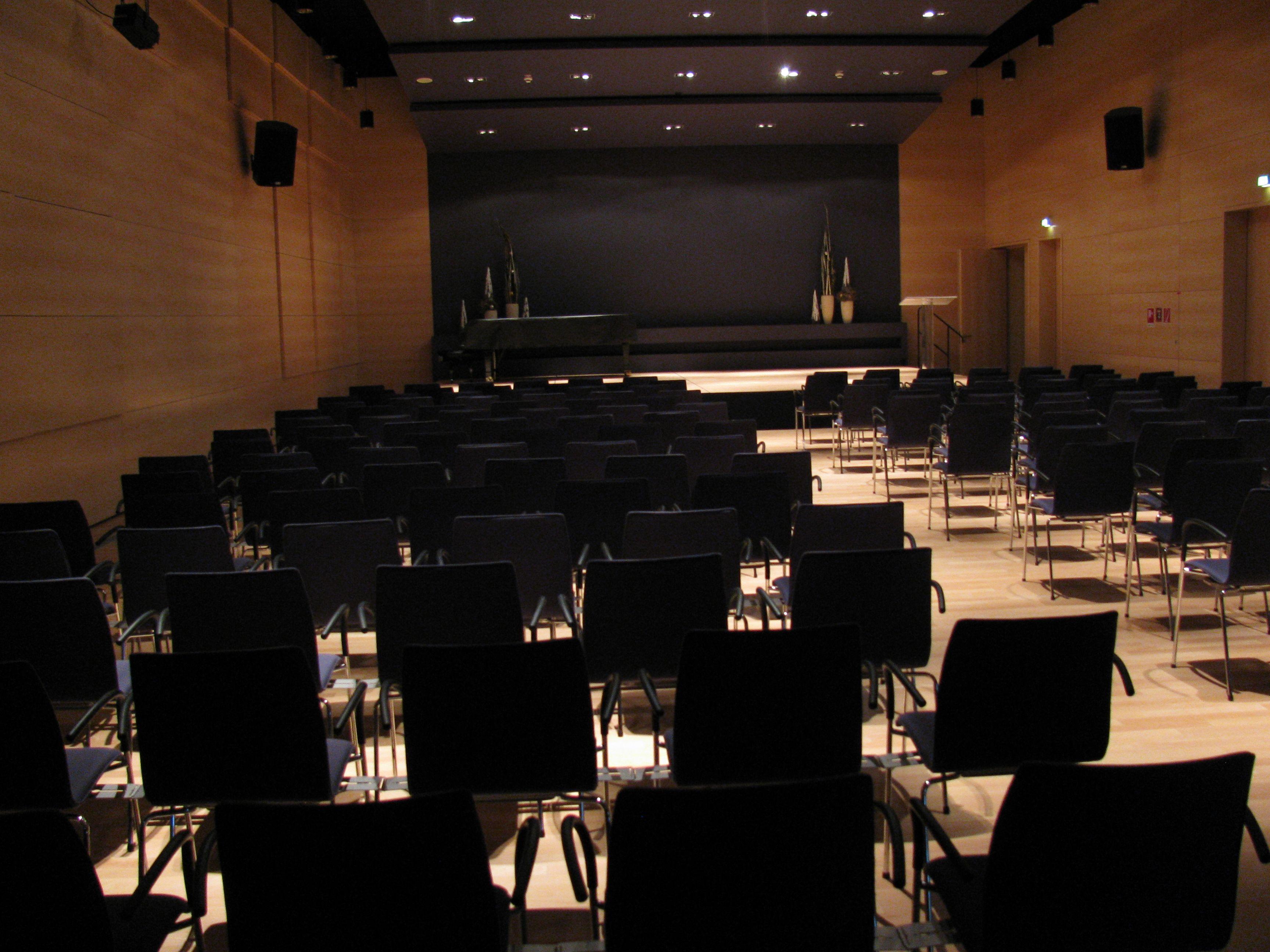 Hermann-Levi-Saal - Konzertsaal im Rathaus