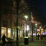 Marktquartier bei Nacht
